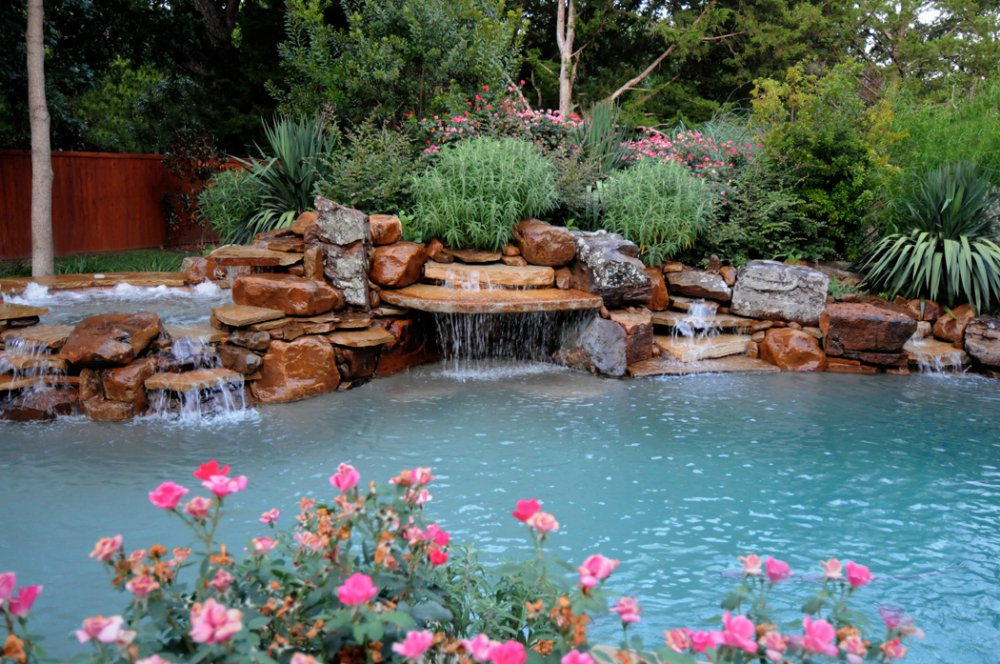 waterfall_water_feature_landscaping_swimming_pool